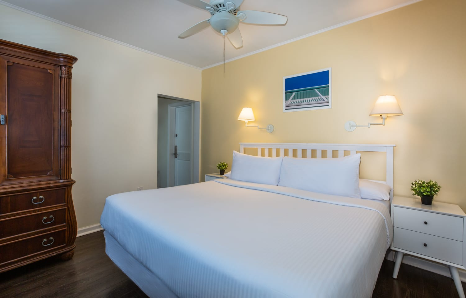 Southernmost Inn bedroom.